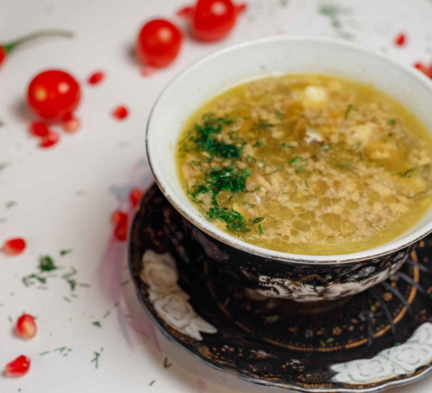 Суп по казахски -145р.